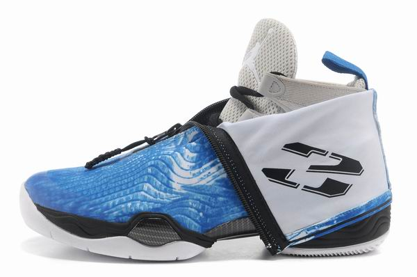 Air Jordan 28 Shoes Blue/White/Black
