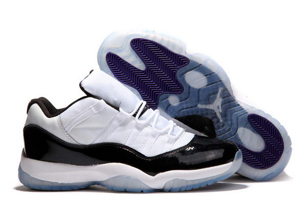 Air Jordan 11 Low Concord Shoes White/Black