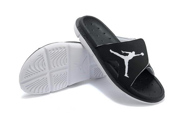 Air Jordan Sandals Shoes black/white