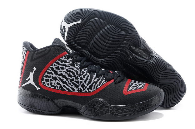 Air Jordan XX9 Shoes black/gray cement/red