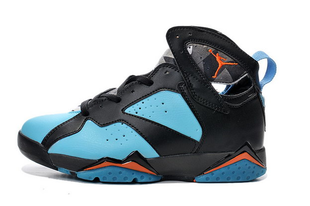 Air Jordan 7 Retro Shoes Gamma blue/black red