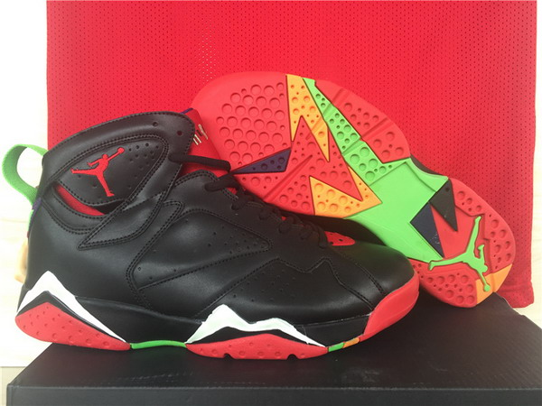 Air Jordan 7 marvin the martian Shoes Black/Red White Green