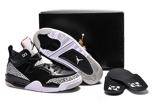 Jordan Son of Mars Low Shoes Black/grey cement