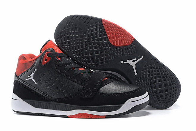 Air Jordan Phase 23 Classic Shoes Black/red white