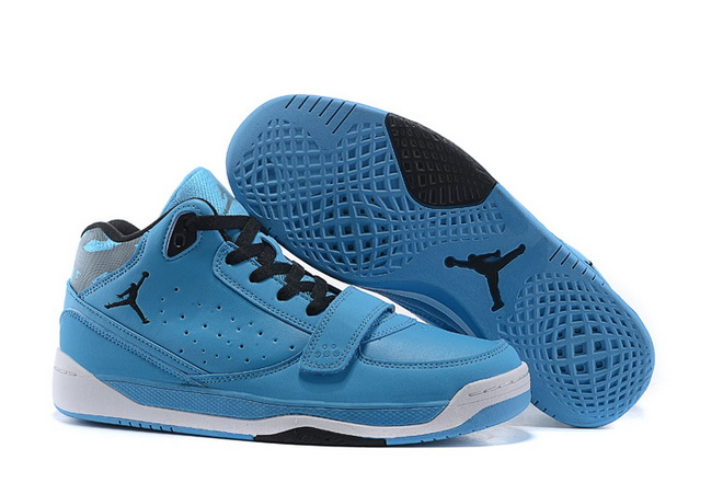 Air Jordan Phase 23 Classic Shoes Blue/black white
