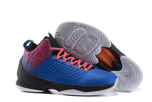 Jordan Melo M11 X Shoes blue/red black