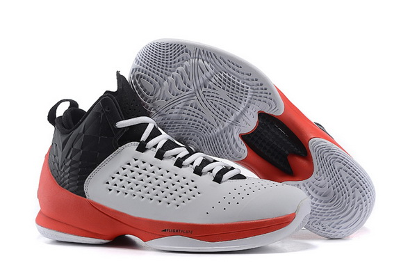 Jordan Melo M11 X Shoes white/red black