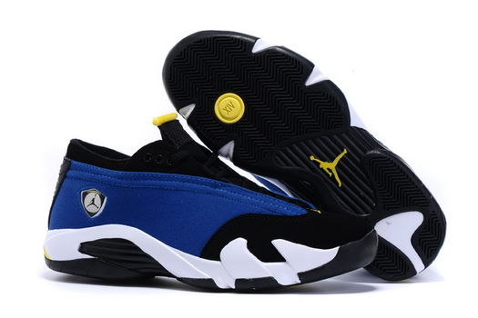 Air Jordan 14 Ferrari Shoes blue/black white