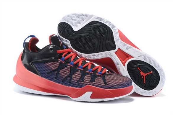 Jordan CP3 VIII Shoes Red/black white