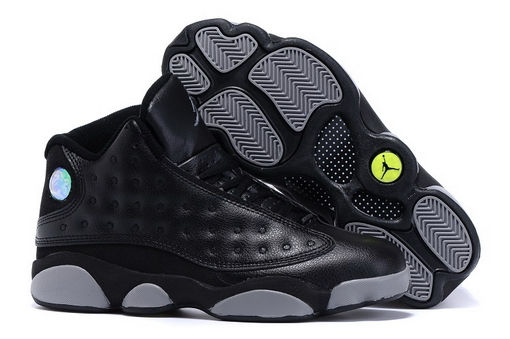 "Air Jordan 13 ""Doernbecher"" Shoes Black/gray"