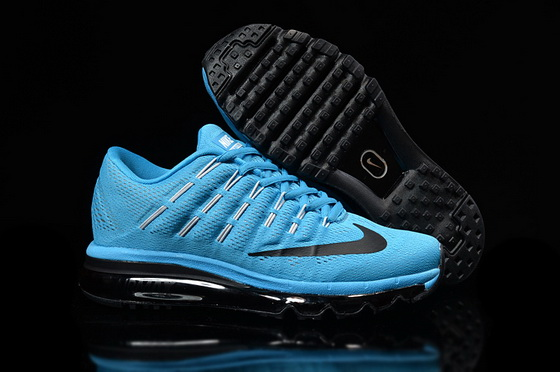 "Air Max 2016 ""Running"" Shoes Blue/black"