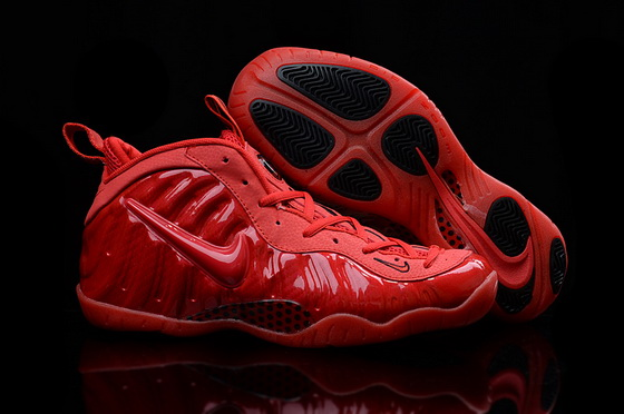 "Air Foamposite One ""red october"" Shoes All red"