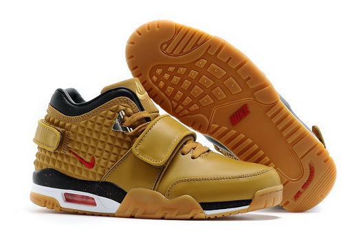 Air Trainer Cruz Prm Shoes Khaki/black red