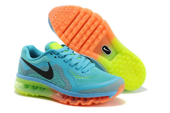 Men's Air Max 2014 Shoes blue/black