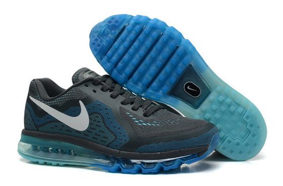 Men's Air Max 2014 Shoes Blue/white dark gray