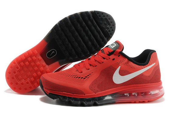 Men's Air Max 2014 Shoes Red/white