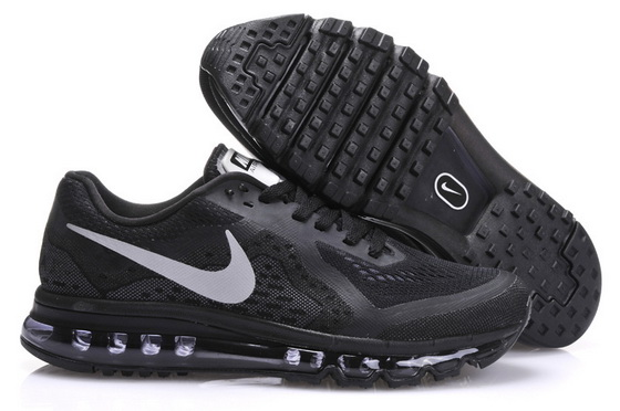 Men's Air Max 2014 Shoes Black/white