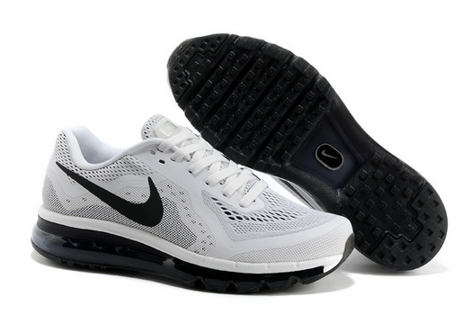 Men's Air Max 2014 Shoes White/black