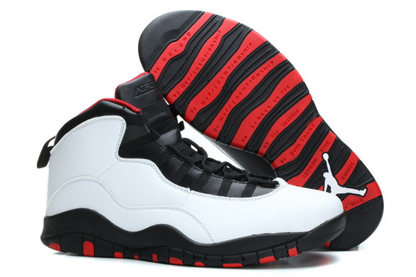 "Air Jordan 10 Retro ""Size 15 16"" Shoes chicago red/white black"
