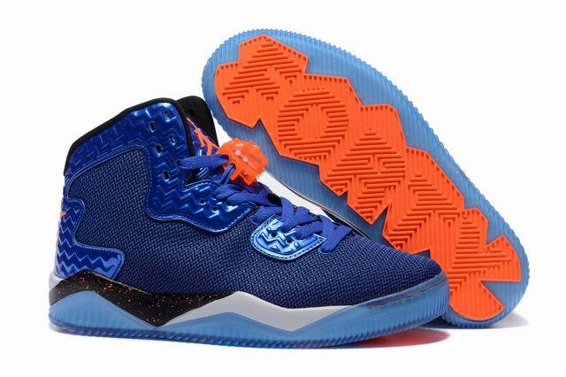Jordan Spike 40 Shoes Blue/black orange