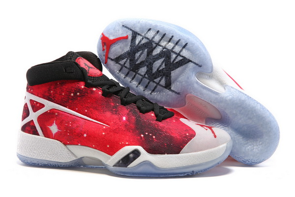 "Air Jordan 30 ""East vs West"" Shoes Galaxy Red/White black"