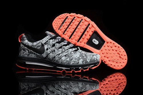 Fingertrap Air Max Shoes Grey/black red