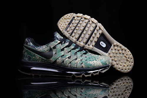 Fingertrap Air Max Shoes Green/brown black