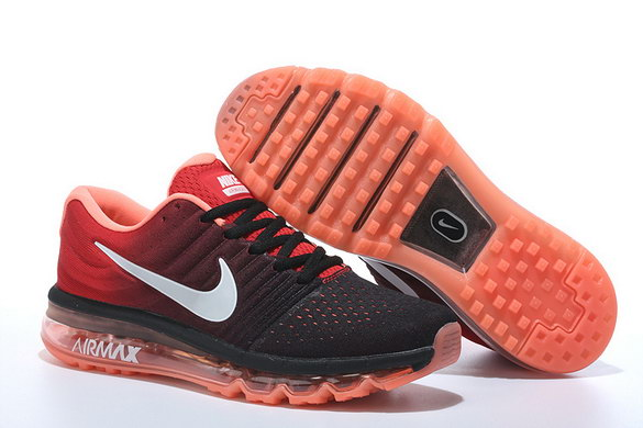 Air Max 2017 Running Shoes Red/Black Grey
