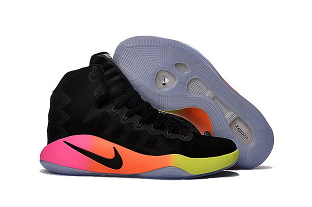 Air Hyperdunk 2016 Shoes Black/red yellow