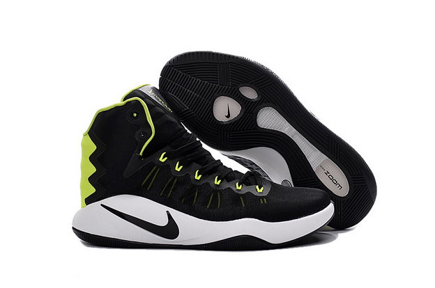 Air Hyperdunk 2016 Shoes Black/green white