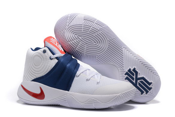 "Kyrie 2 ""USA"" Shoes White/blue red"