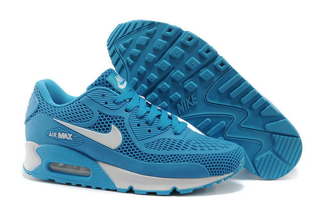 Air Max 90 Shoes Blue/white