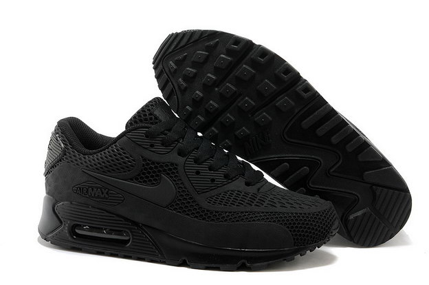 Air Max 90 Shoes Black