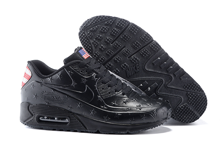 "Air Max 90 Hyperfuse ""Independence Day"" Pack Shoes Black"