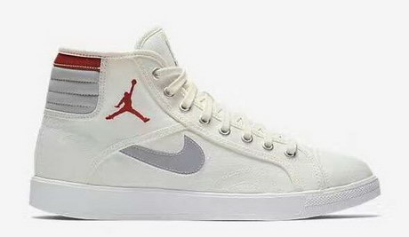 Air Jordan Sky High OG Shoes Sail/Wolf Grey Gym Red