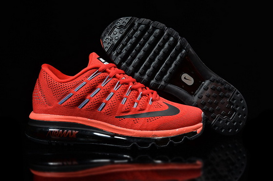 Women's Air Max 2016 Shoes Red/black