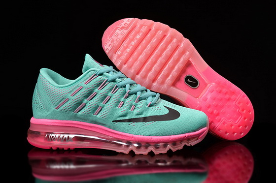Women's Air Max 2016 Shoes Blue/black pink
