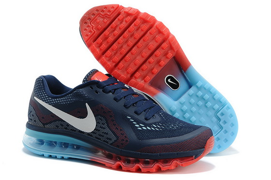 Women's Air Max 2014 Shoes Blue/white red