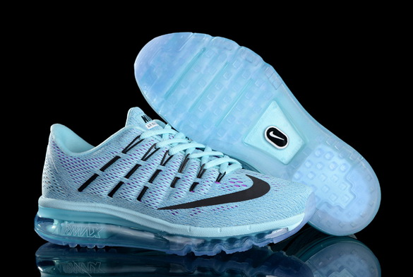 Women's Air Max 2016 Girl Shoes Blue/black