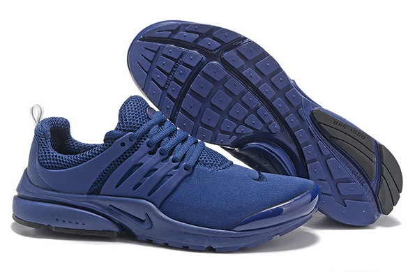 Womens Air Presto BR Shoes Dark Blue/Black