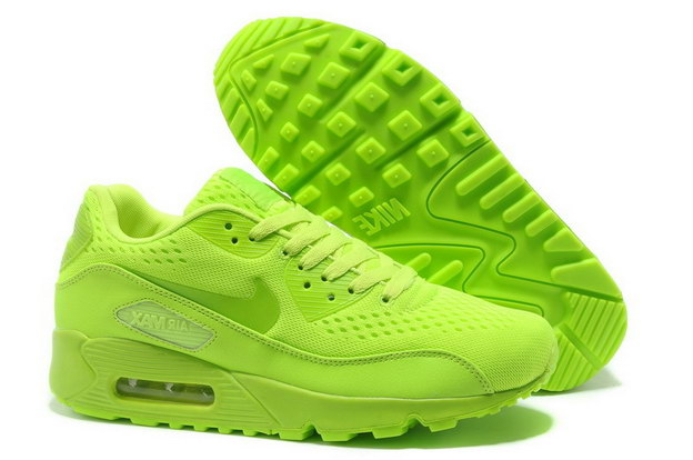 Women's AIR MAX 90 PREMIUM EM Shoes Fluorescent green