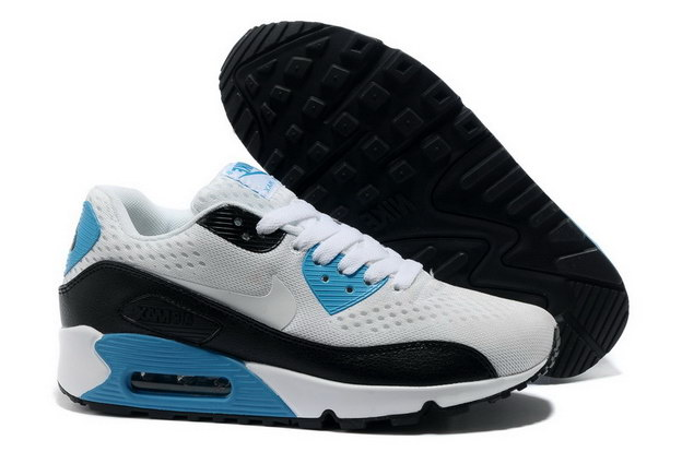 Women's AIR MAX 90 PREMIUM EM Shoes White/black blue