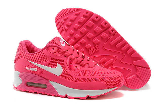 Women's Air Max 90 Shoes Pink/white