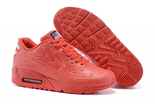 "Air Max 90 Hyperfuse ""Independence Day"" Pack Shoes Red"