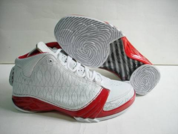 Air Jordan 23 Shoes White/Red