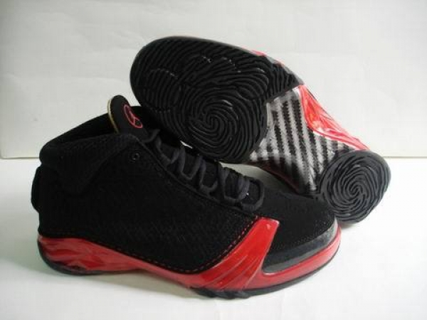 Air Jordan 23 Shoes Black/Red