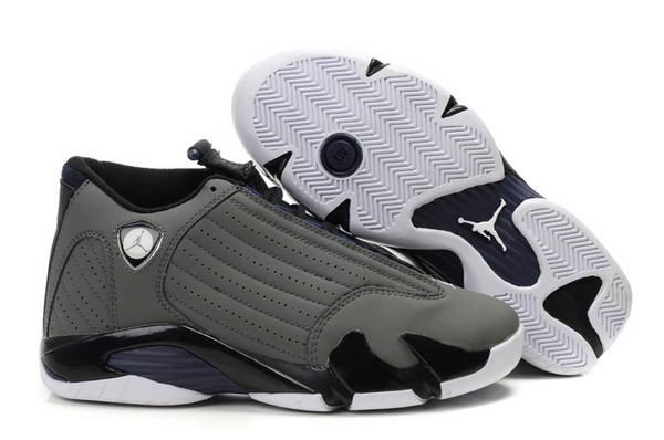 Air Jordan 14 Retro Shoes Dark gray/Black