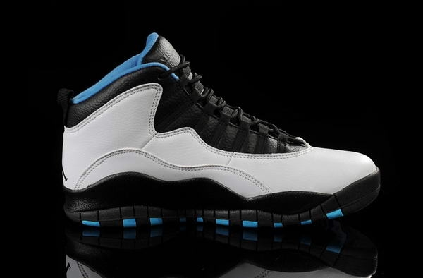 Air Jordan 10 Retro New releases Shoes white/black blue