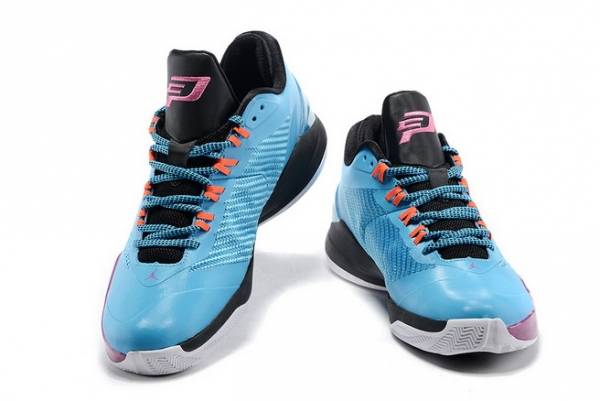 Jordan CP3 VIII Shoes Blue/purple black
