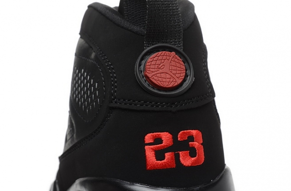 Air Jordan 9 RETRO Shoes Black/White